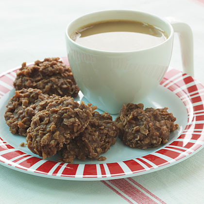 Recipe for unbaked chocolate coconut cookies