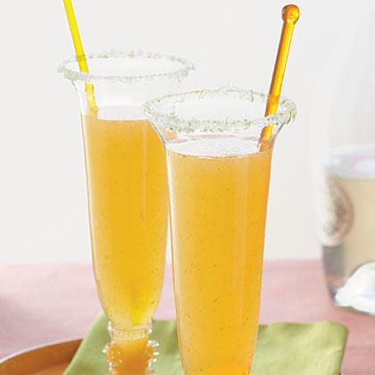 Apricot-Ginger BellinisRecipe