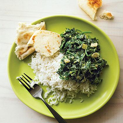 "Indian Spinach (ITALIC ""Saag""] Recipe"