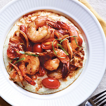 Spicy Shrimp Grits