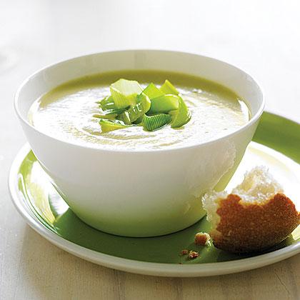 potato leek soup recipe myrecipes