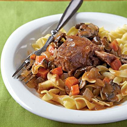 Braised Short Ribs with Egg NoodlesRecipe