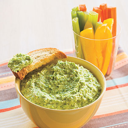"""""""Easy, made it for a group that included vegetarians and everyone loved it. I plan on making it again for another party."""" —ThomasmaAsparagus Pesto                            Recipe"""
