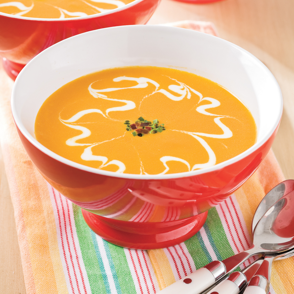 Baby Carrot Soup Recipe