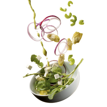 watercress-artichoke-salad Recipe