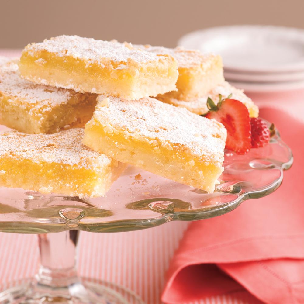 Luscious Lemon Bars Recipe | MyRecipes