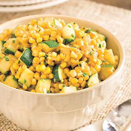 Sweet Corn and Zucchini