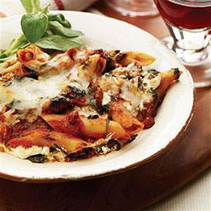Tomato Florentine Pasta Bake Recipes