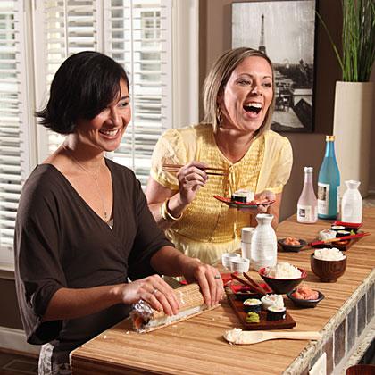 Girls' Night In: Sushi Night