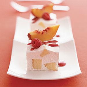 Frozen Peach Shortcake Squares Recipes