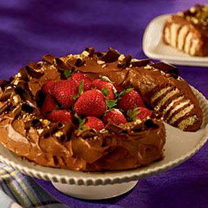 NILLA Chocolate Peanut Butter No-Bake Cake Recipes