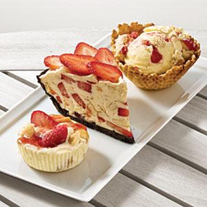 Strawberry Cream Freeze Recipes
