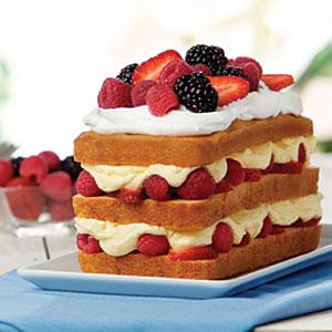 Berry Bliss Cake Recipe Myrecipes