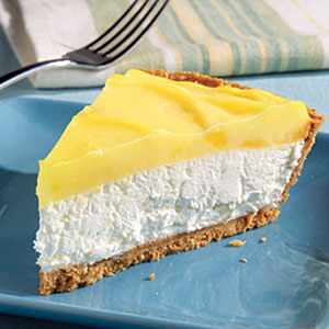 Layered Pineapple Lemon Cheesecake Pie Recipe Myrecipes