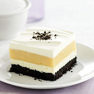 Peanut Butter Striped Delight Recipes
