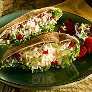 Chicken and Rice Salad with Roasted Red Peppers Recipes