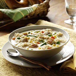 Creamy Chicken and Rice Soup Recipes Recipe