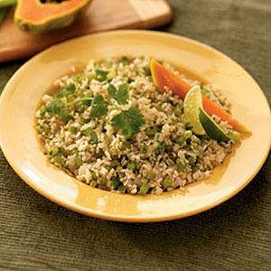 Green Chile Brown Rice Recipes