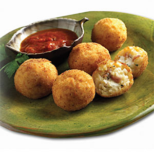 Suppli al Telefono: Deep Fried Rice and Mozzarella Balls Recipes
