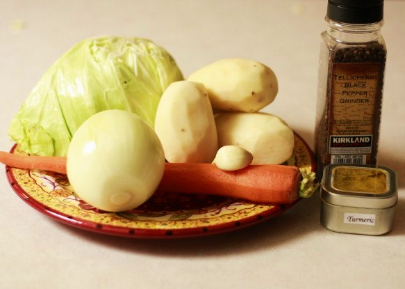 Alecha-- Ethiopian comfort food, vegetarian-style