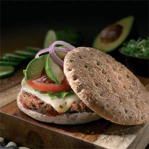 Arnold & Oroweat Sandwich Thins Southwest Burger