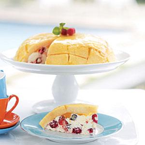 Creamy Berry Cake Mosaic Recipes