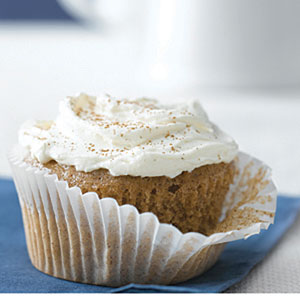 Carrot-Ginger Cupcakes with Spiced Cream Cheese Recipes