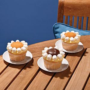 Lemon Daisy Cupcakes Recipes