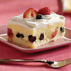 Low-Fat Berry Square Recipes
