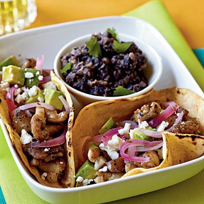 Pork carne asada tacos recipe
