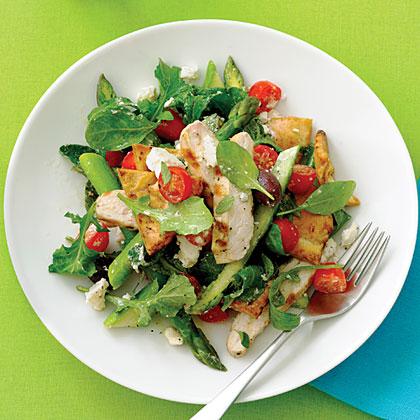 Grilled Chicken Pita Salad Recipe MyRecipes