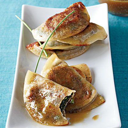 Gyoza with Soy-Citrus Sauce Recipe