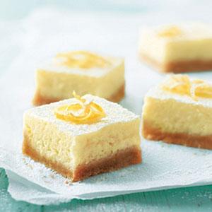 Creamy Lemon Squares Recipes
