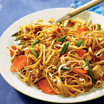 Lo Mein with TofuRecipe