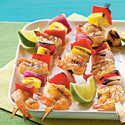 Mango Shrimp Kebabs Recipe