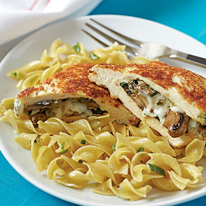 Mushroom-Stuffed Chicken