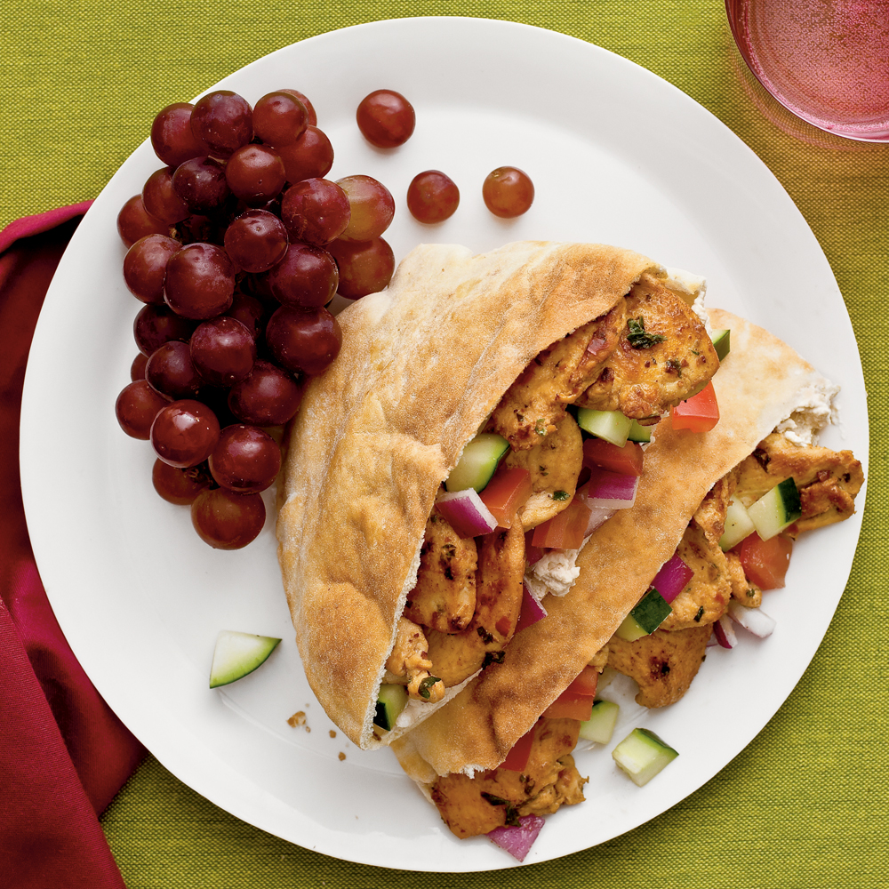 Spicy Chicken Shawarma