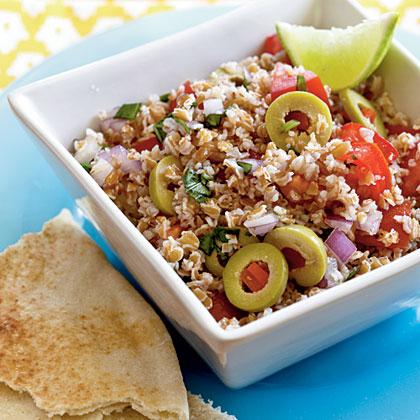 Tart & Tangy Bulgur Salad