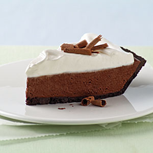 Chocolate Silk Pie with Marshmallow Meringue Recipes