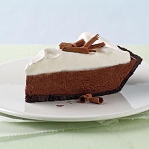 Chocolate Silk Pie with Marshmallow Meringue Recipes