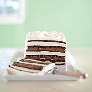 OREO & Fudge Ice Cream Cake Recipes