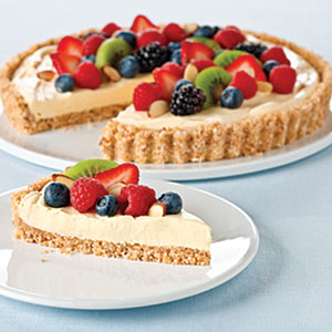 Vanilla-Almond Fruit Tart Recipes