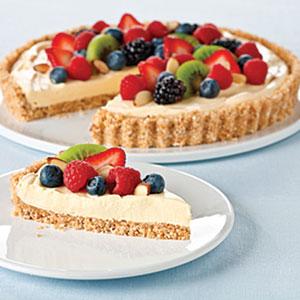 Vanilla-Almond Fruit Tart Recipes