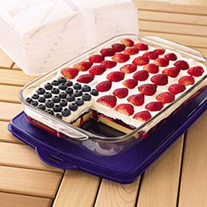 Wave Your Flag Cheesecake Recipe Myrecipes Com