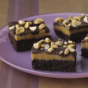 Triple-Layer Peanut Butter Brownie Recipes