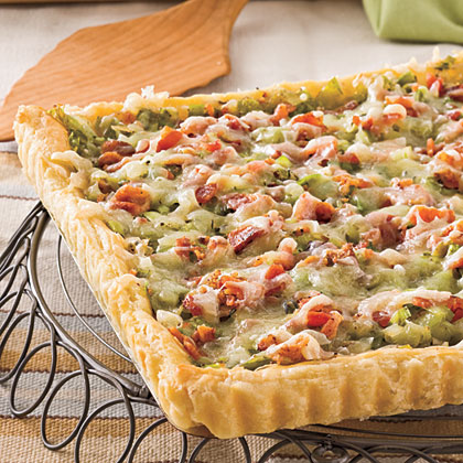 Bacon-and-Leek TartRecipe