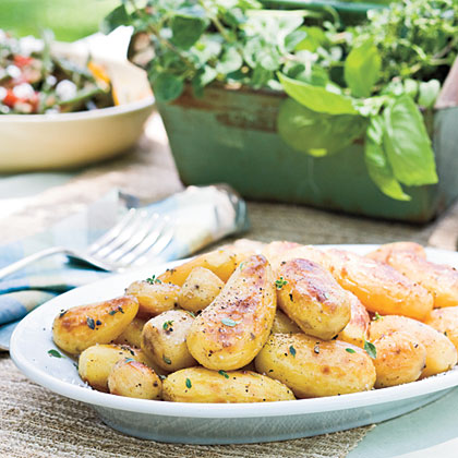Church-Style Lemon-Roasted Potatoes