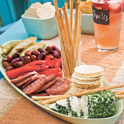 Simple Antipasto PlatterRecipe