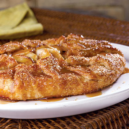 Caramel-Apple Galette Recipe | MyRecipes