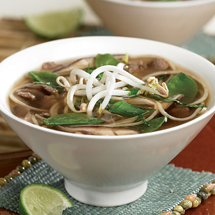 Spicy Asian Beef And Noodle Soup Recipe
